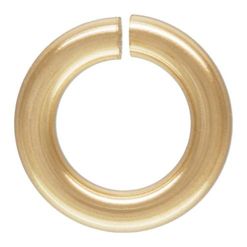 14 K Gold Filled Ring, OPEN, 5 x 1 mm, per stuk