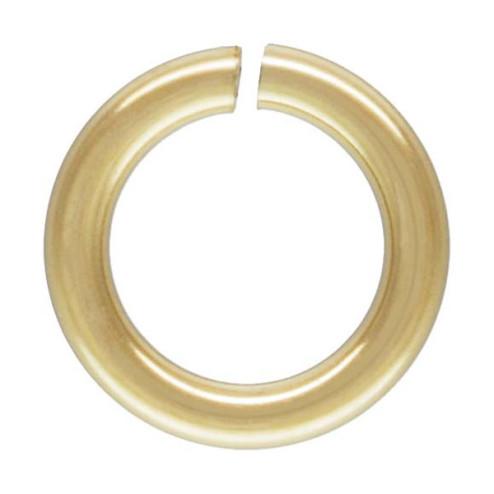 14 K Gold Filled Ring, OPEN, 3 x 0.5 mm, per stuk