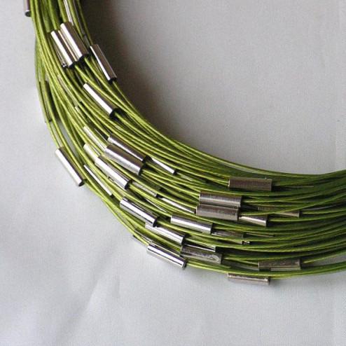 Spang, RVS, 45 cm, lime