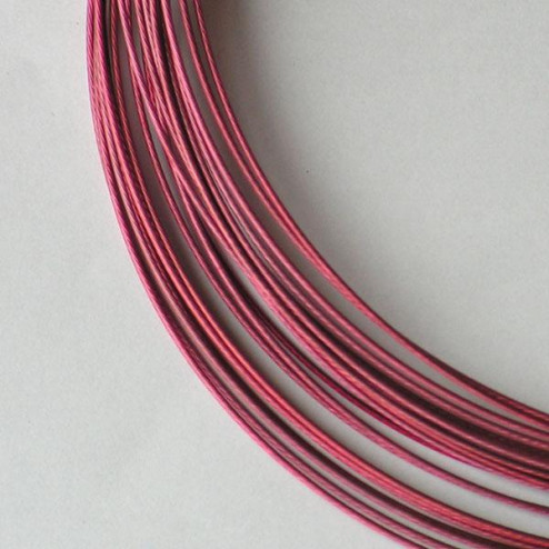Spang, RVS, 45 cm, oud roze