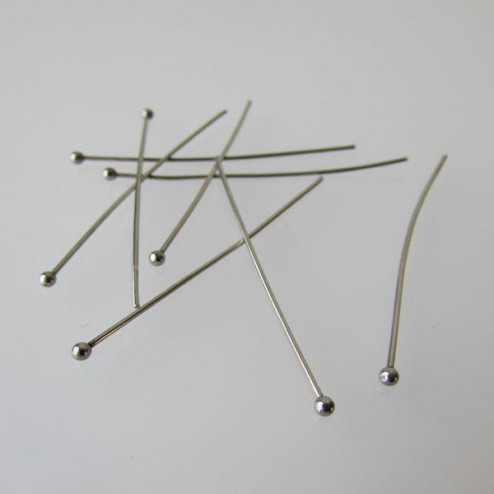 Edelstalen nietstift, 0.7 x 40 mm, verpakt per 50 stuks