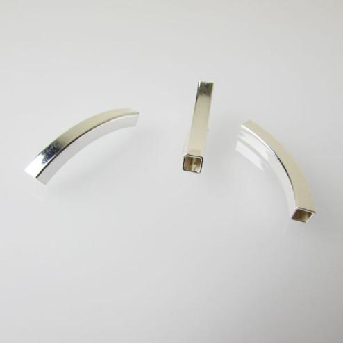 Sterling zilveren (925) buis, 4 x 30 mm