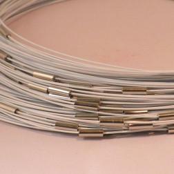 Spang, RVS, 52 cm, wit