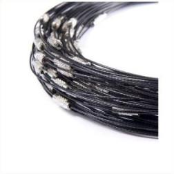 Spang, RVS, 45 cm, zwart