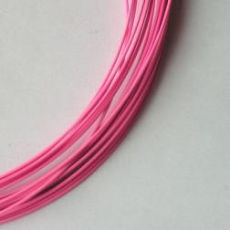 Spang, RVS, 45 cm, fel roze