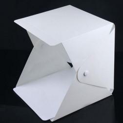 Foto cube met led strip, 22 x 23 x 24 cm, per stuk
