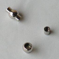 Edelstalen RVS magneetslot, 19 x 12 mm, per stuk