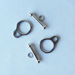 Edelstalen RVS kapittelslot (316), 20 mm, verpakt per 10 stuks